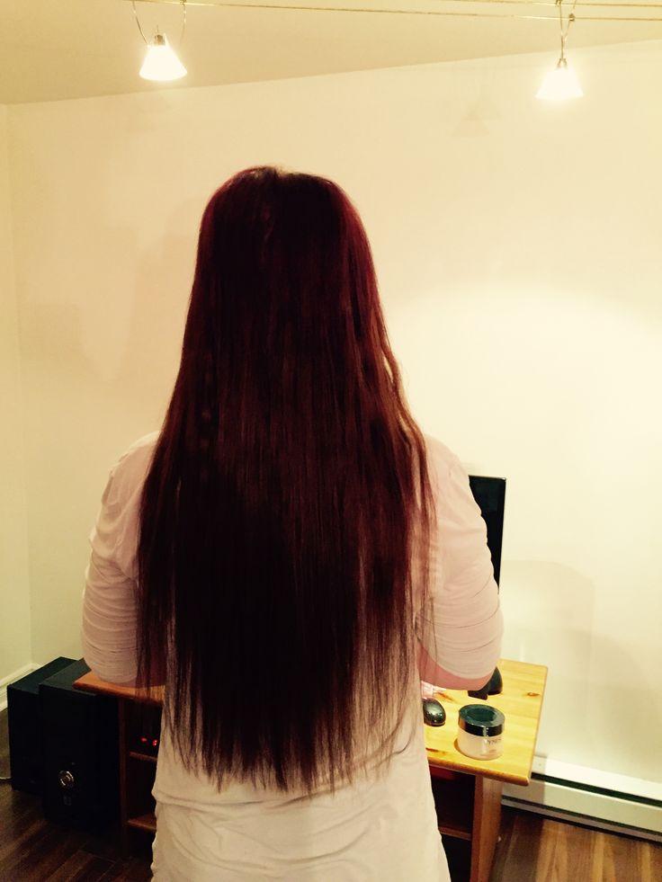 "22"" humain hair extensions I tips 110g  22"" extensions de cheveux 100% naturel i tips 110 g   https://m.facebook.com/luxebeauteaccessoires/"