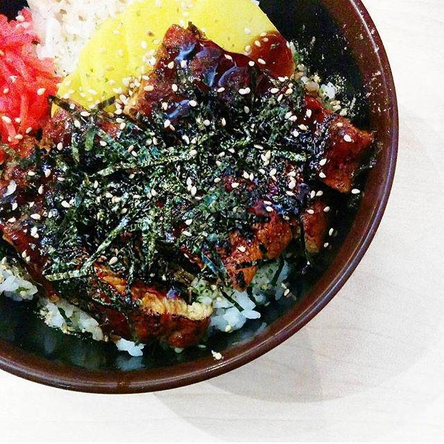 Donburi - our unagi grilled eel donburi 📷: @elixerchic  Yummery - best recipes. Follow Us! #foodporn