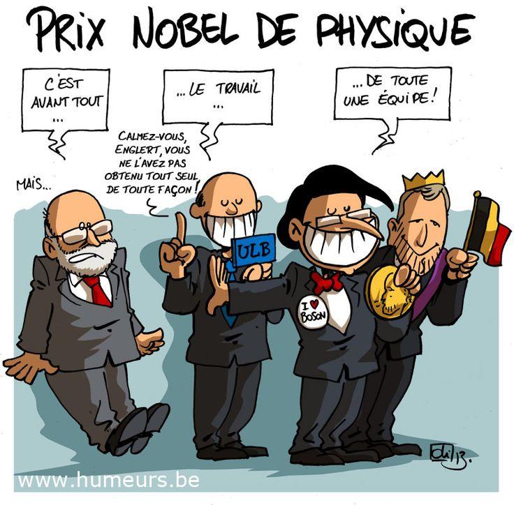 Prix Nobel de physique 2013 pour François Englert... et la Belgique ?