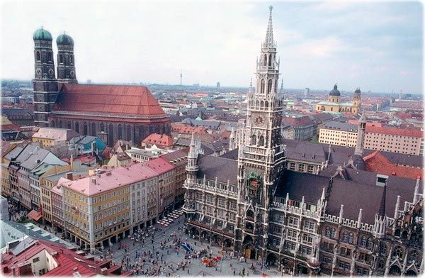Munich, Germany: the building with two towers on the left is the Frauenkirche!: Munich Munich, Munichgermani, Destinations Bucketlist, Favorite Places, Cities, Munich Germany, Visit, Europe Vacations, Travel Guide