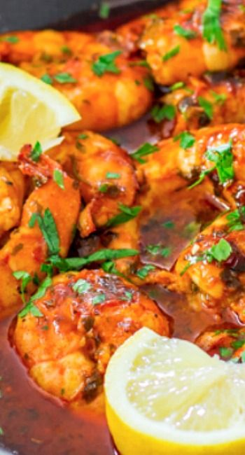 Spicy New Orleans Shrimp Recipe ~ hot and spicy, decadent and savory.