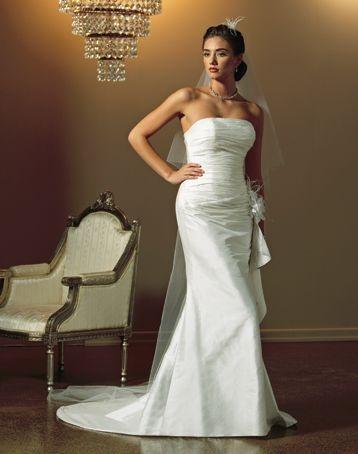 Brides By Mancini - Strapless - Ivory - Size 8 wedding dress for sale in Lindisfarne, Tasmania | Still White Australia