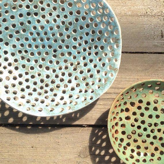 Tazón de fuente de fruta grande-cerámica y alfarería por Vsocks