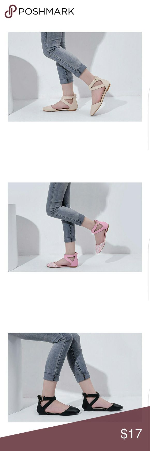 Kay New Fashion Womens Pointed Toe Ankle D-orsay Pointed Toe floral print upper Create your chic style , Premium microsuede uppers highlight pointed toes and a t-strap design connects to caged back heels. Padded insoles create a comfortable fit to finish the design Mila Lady Shoes Flats & Loafers