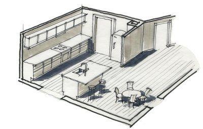 Hvordan får vi mere plads i køkkenet?