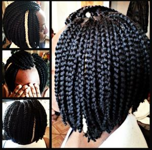 Admirable 1000 Images About Short Box Braids On Pinterest Hairstyle Inspiration Daily Dogsangcom