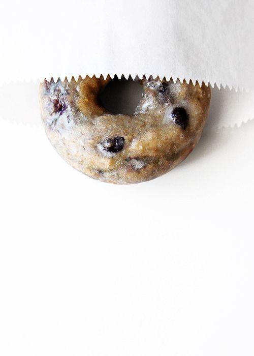 Baked Blueberry Donuts | @thefauxmartha