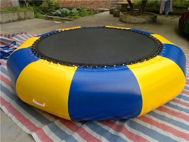 250.00$  Watch now - http://ali4u8.worldwells.pw/go.php?t=32704656455 - 2m Inflatable Water Trampoline Outdoor Inflatable PVC Bouncer