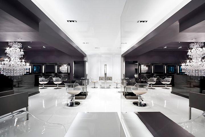Les 212 meilleures images du tableau interior design hair for Salon de coiffure new york