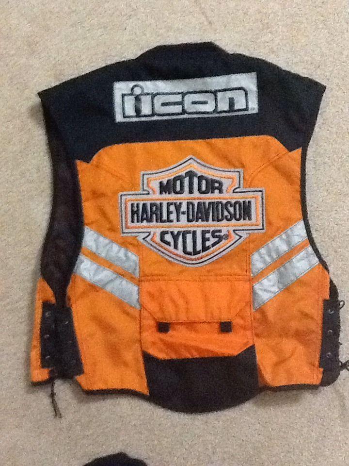 Icon Reflective Vest (Harley Davidson) Reflective vest