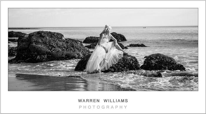 Carly and Trevor, Trash the Dress, St Helena Bay - Warren Williams