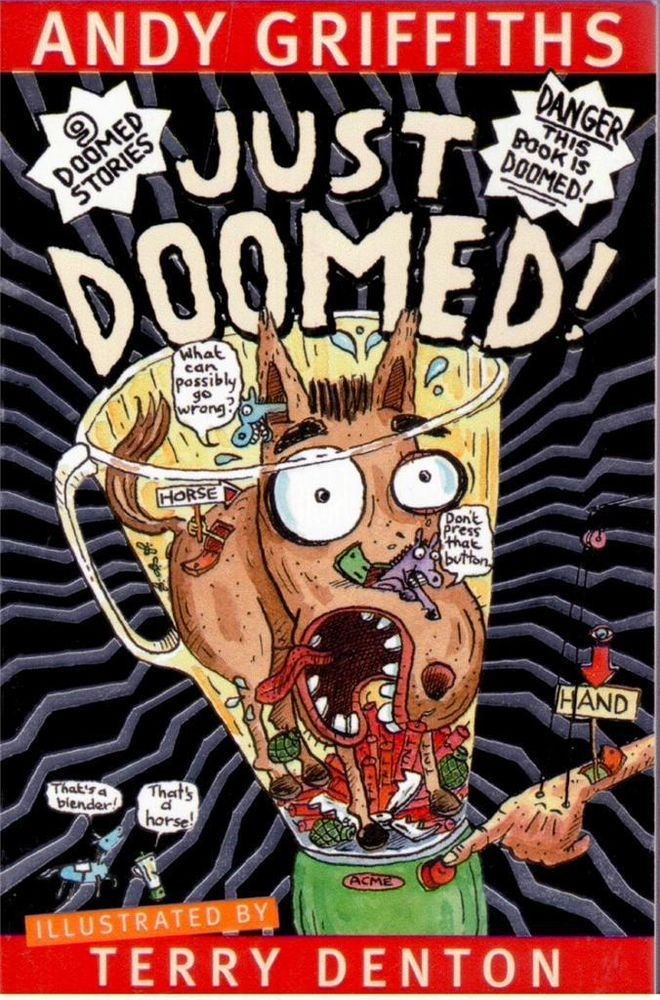 Just Doomed by Andy Griffiths and Terry Denton - NEW