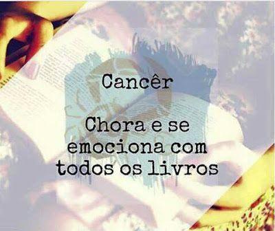 PoRtUgUêS nA TeLa: H.o.r.ó.s.c.o.p.o L.i.t.e.r.á.r.i.o: #Câncer (Meu ...