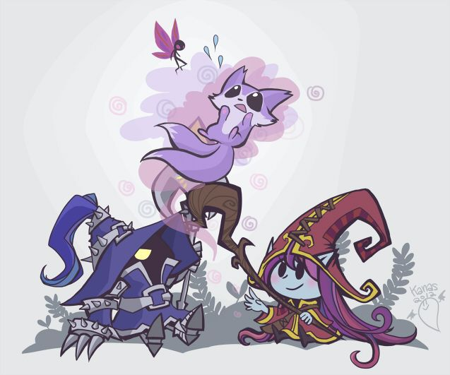 League of Legends: Little Mages by inkinesss.deviantart.com on @deviantART