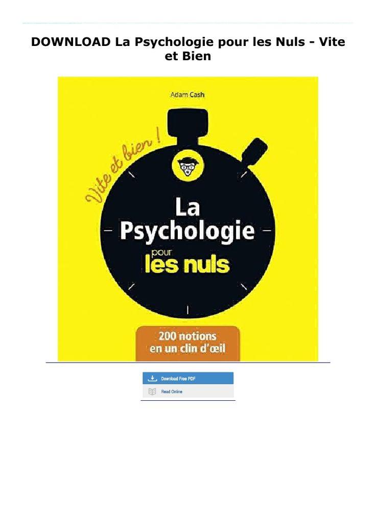 Download La Psychologie Pour Les Nuls Vite Et Bien In 2020 Tech Company Logos Pie Chart Paperbacks