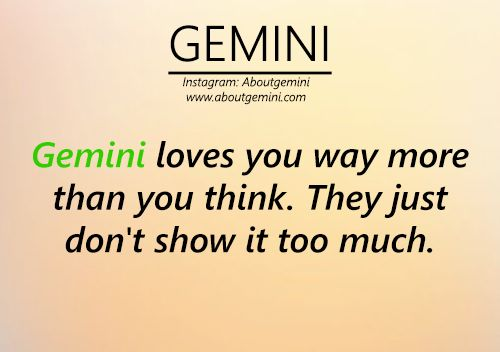 Gemini Quotes and Sayings - About Gemini