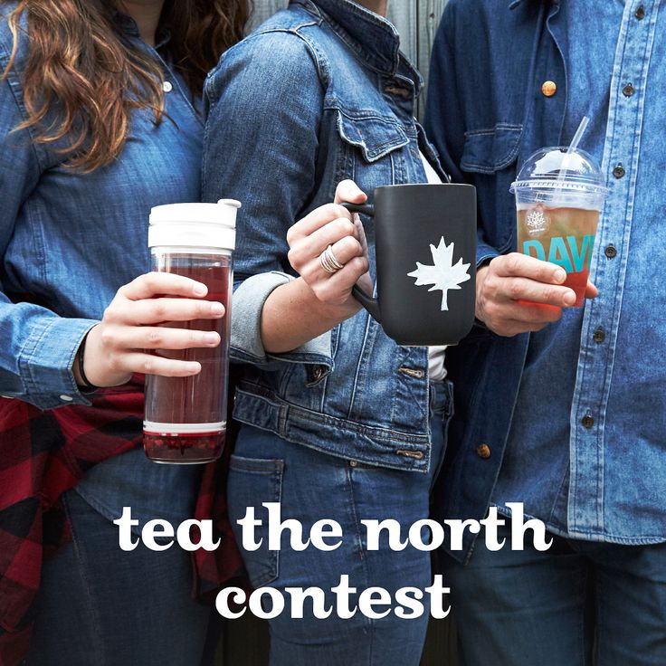 We're kicking off our Tea the North contest and Canada Day festivities the only way we know how: with a cup of tea and our best Canadian tuxedo!👖Show us your most stylish denim-on-denim or lumberjack plaid for your chance to win a sweet prize. Don't forget your mug! • 1)Snap a pic 📷 2)Share it on Instagram with #dtcanada150 and @davidstea (visit link in bio for official rules) ••• Nous lançons les festivités de la fête du Canada –et de notre concours Tchin-tchin Canada – de la seule…