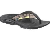 chaco flip flops! I have had a pair for almost 6 years!  They will take you ANYWHERE! Billy and I love our chaco's!! You will only have to buy one pair because they last FOREVER! just make sure to wash them!