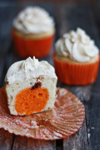 Fabulous Fall Pumpkin Cupcakes