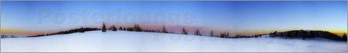 130x20 cm Gregor Luschnat - Winter Panorama