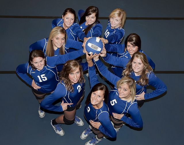 Volleyball Team 2010-11 Season by Lewis and Clark Community College, via Flickr