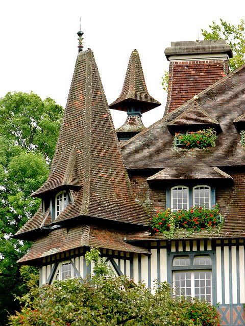 Deauville roof by Poppins' Garden, via Flickr