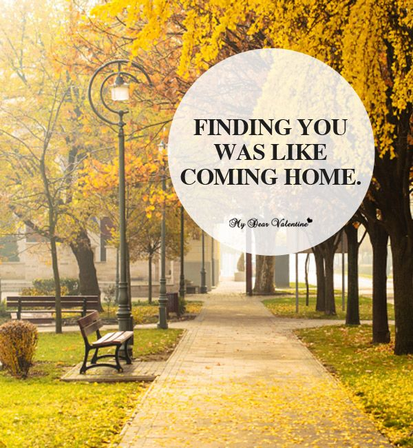 Finding You Was Like Coming Home.