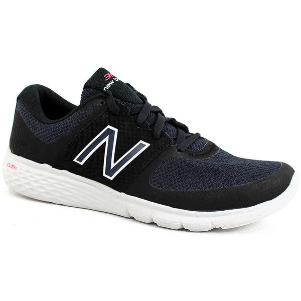 New Balance Women's 365 Black White - 7 B Women's Shoes ($60) ❤ liked on Polyvore featuring shoes, athletic shoes, black, new balance, black shoes, mesh shoes, new balance footwear and new balance shoes