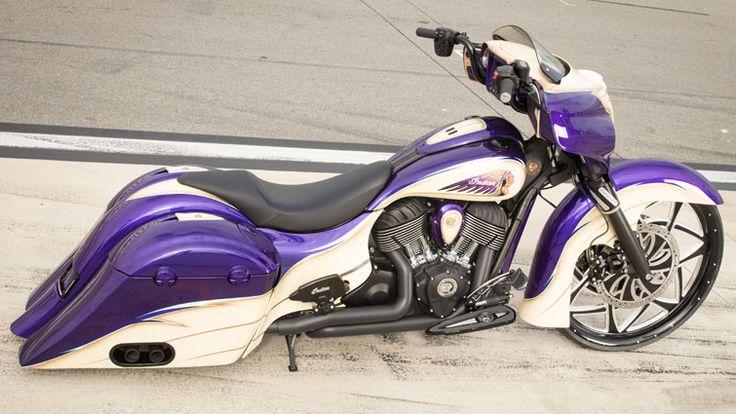Violet Tendencies - Custom Chieftain | Indian Motorcycle