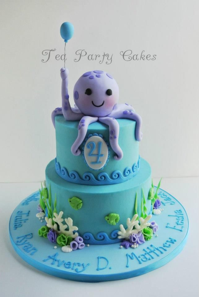 Under the Sea Cake by Tea Party Cakes