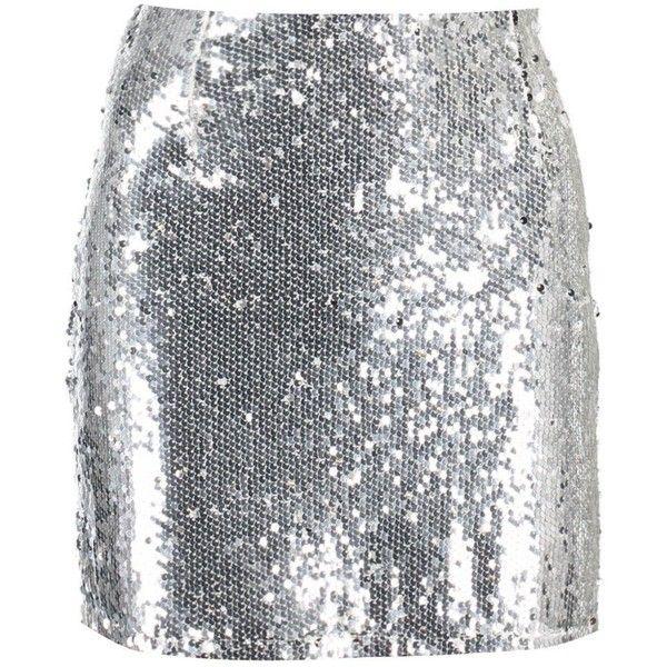 Boohoo Tyla All Over Sequin Mini Skirt ($20) ❤ liked on Polyvore featuring skirts, mini skirts, bottoms, sequin, silver, midi circle skirt, holographic mini skirt, sequin maxi skirt, circle skirts and pleated midi skirt