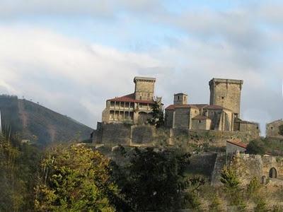 Castillo de Monterri. Orense. Spain