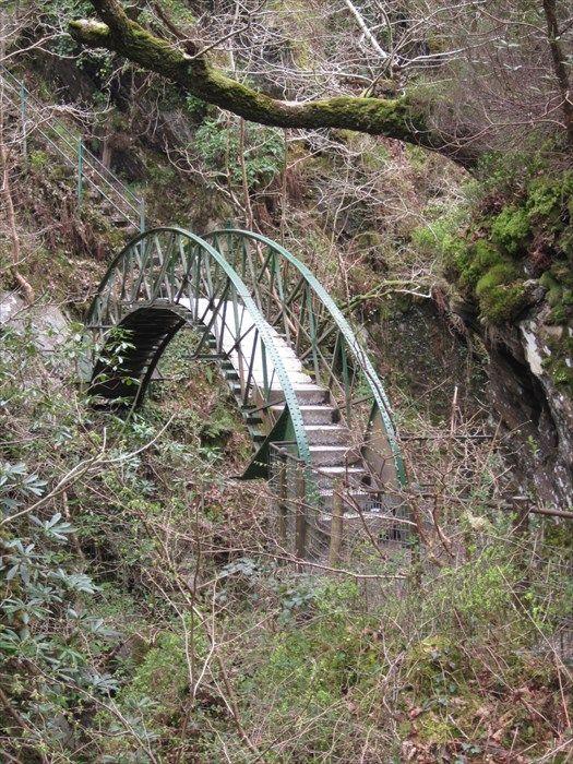 Aluminium Bridge, Devils Bridge, Ceredigion, Wales, UK Image