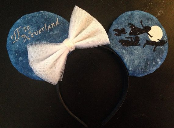 Peter Pan Inspired Mouse Ears by GwizzyEars on Etsy