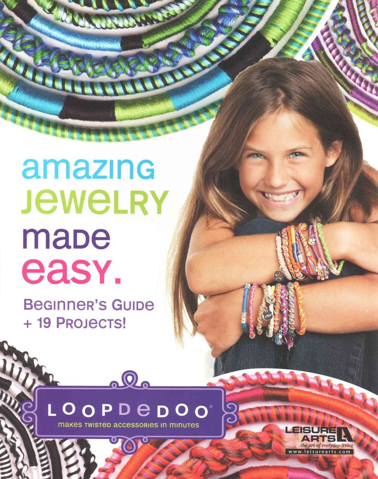 Loopdedoo Makes Twisted Accessories in Minutes: Amazing Jewlery Made Easy, Beginner's Guide + 19 Projects!