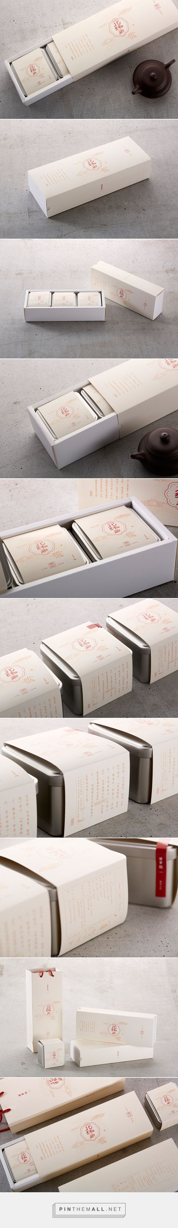 北纬三十度 / tea packaging by Yuho Studio