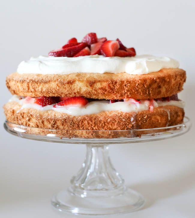 Red Velvet Angels Food Cake