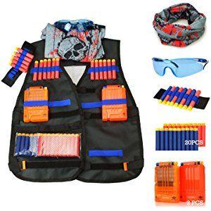 Tactical Vest Kit for Nerf Guns N-Strike Elite Series