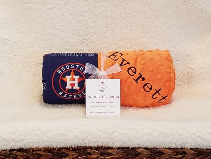 199 best bundle me baby blankets images on pinterest baby houston astros baby blanket toddler minky name embroidered gift set large minky personalized baby boy red negle Choice Image