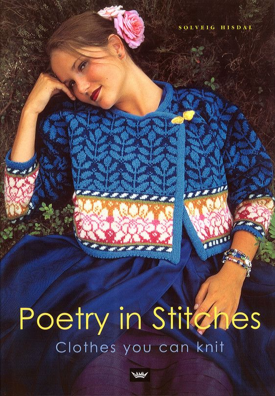 Poetry in Stitches by Solveig Hisdal--I have this book, why don't I make something from it???