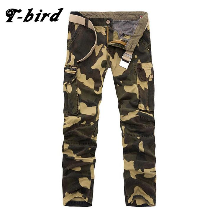 T-Bird Brand Autumn And Winter Tactical Uniforms Camouflage Pants Men'S Casual Pants Air Cold Camouflage Military Men'S Pants