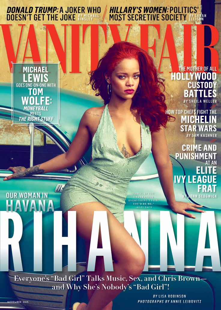 "Rihanna Opens Up to Vanity Fair About Chris Brown: ""I Was Very Protective of Him"""