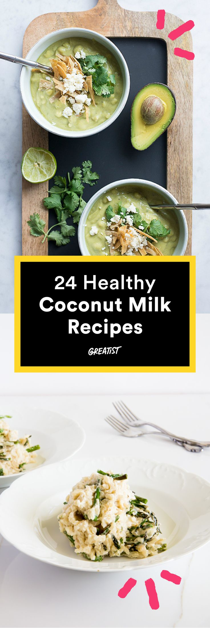 From curry to custard and everything in between. #healthy #coconutmilk #recipes http://greatist.com/eat/coconut-milk-recipes-for-every-meal
