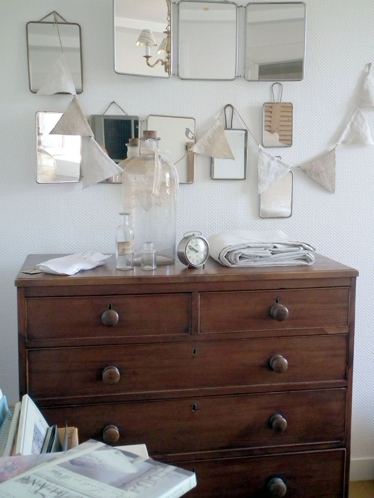 Miroir de barbier deco pinterest decoration for Miroir barbier