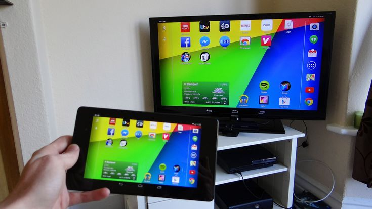 How to mirror #Android to TV