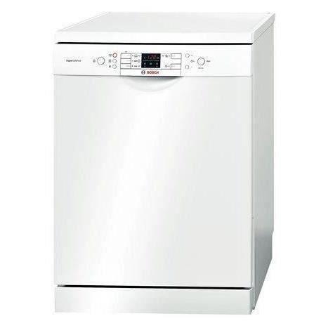 Lave vaisselle pose libre - 12 couverts - Classe énergétique A++ - Niveau sonore 44 dB - Consommation annuelle d'eau : 2660 L , d'énergie : 258 kWh - 5 programmes - 3 options -