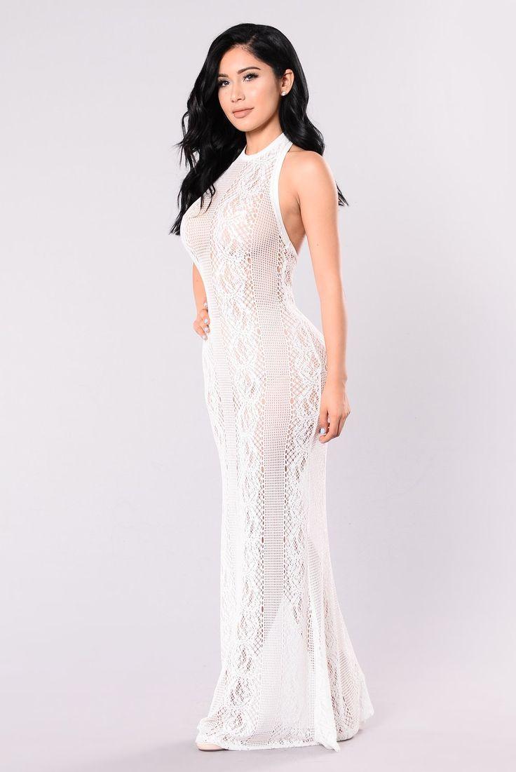 Skybar Dress White Dresses, White dress, Sheer dress