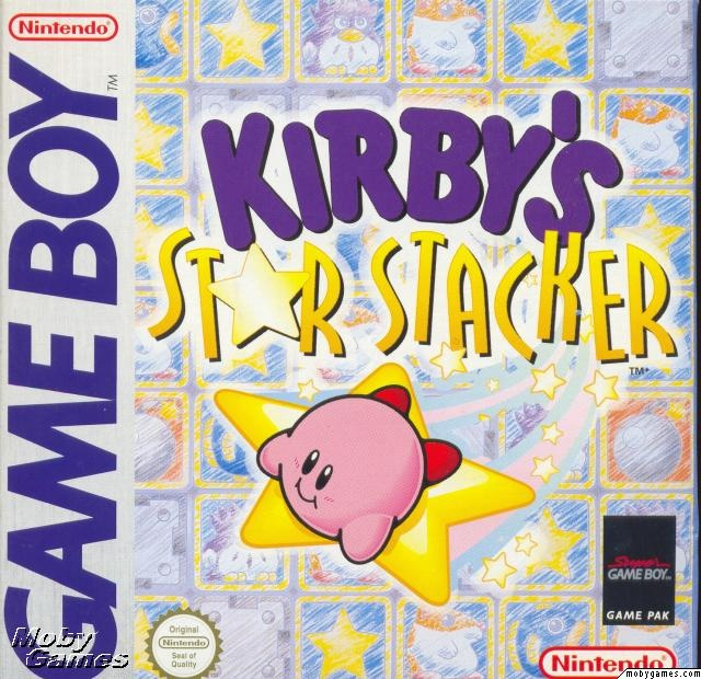Kirby's Star Stacker released in North America in 1997