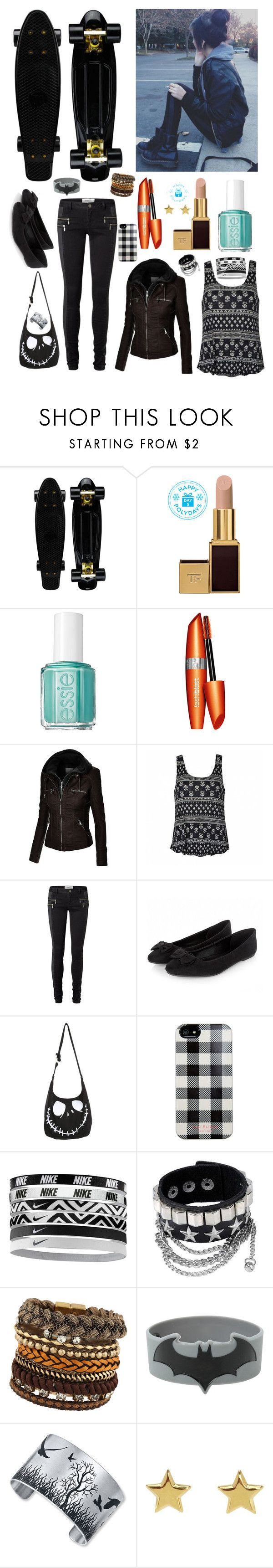 """Danny Smith"" by nationalnerd ❤ liked on Polyvore featuring Tom Ford, Essie, COVERGIRL, Ally Fashion, Vero Moda, Isaac Mizrahi, NIKE, ALDO and SonyaRenée"