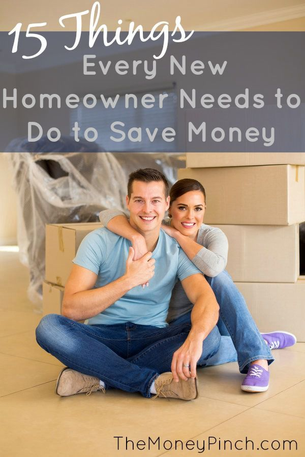 Awesome tips for new homeowners on how to save money. Perfect advice even for current home owners, or those looking to buy their first home. Love it!